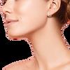Huggie Hoop Earrings 14K RG