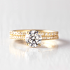 Ella Brilliant Cut Engagement Ring