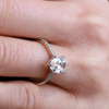 Elsie Oval Cut Solitaire Engagement Ring