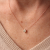 Diamond Solitaire Necklace | Laura Preshong