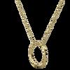 Circle 'O' Ethical Gold Necklace
