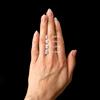 Pear Cut Diamond Scale Chart