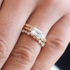 August Emerald-Cut Ethical Engagement Ring