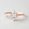August Marquise Cut Engagement Ring