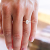 August Oval Cut Engagement Ring