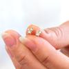 Canadian diamond Trio cluster earrings