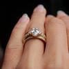 Women's Eternity Wedding Band Pave Ethical Diamond