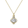 Mayfair White Topaz 14KY Necklace