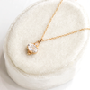 Mayfair White Topaz Necklace - Yellow Gold