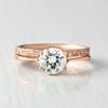 Chloe Petite Ethical Eternity Pave Diamond Wedding Band