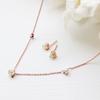 Aubrey Welo Opal Necklace - Rose Gold