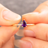 Margot Amethyst Stacking Ring