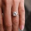 Laura Preshong Ethical Engagement Ring - Cynthia Ethical Diamond Halo Ring