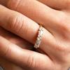 Chablis Fancy Ethical Diamond Wedding Band