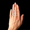 Francis Emerald Cut Halo Ring