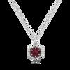 Loie Petite 14KY Emerald Necklace