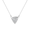 Diamond Pyramid Necklace