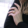 Laura Preshong Ethical Engagement Ring - Ma Jolie On Hand