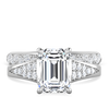 Emmaline Emerald Cut Engagement Ring