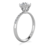 Rae Solitaire Engagement Ring