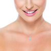Dixie Diamond Silver Necklace