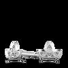 Ethical Diamond Ivy Leaf Earrings