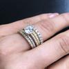 Laura Preshong Engagement Ring -  Charlotte Emerald Band Engagement Ring