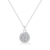 Odessa Petite Silver Diamond Necklace