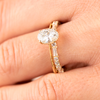 Callista Oval Engagement Ring