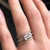 Charlotte Diamond Band Engagement Ring