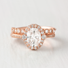 Calla Oval Cut Halo Engagement Ring