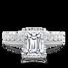 Callista Emerald Cut Engagement Ring