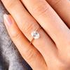 Callista Oval Cut Engagement Ring