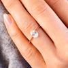 Callista Oval Engagement Ring