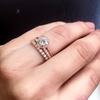 Becca Halo Engagement Ring