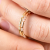 Harper ethical diamond wedding band