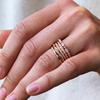Briar nature-inspired twist diamond ring