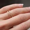 Womens Wedding Band Ethical Diamond Set Roses Eternity