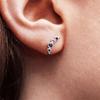 Beaded ethical gemstone Caterpillar Earrings