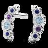 Ethical Gemstone Nature Inspired Post Earrings