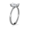 Lila Emerald Cut Engagement Ring