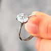 Lila Fleur de Lys ethical diamond engagement ring | Laura Preshong Ethical Fine Jewelry