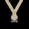 Dixie 14KY Moissanite Necklace
