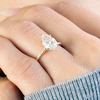 Lila Pear Cut Engagement Ring