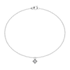 Tiny Square Diamond Bracelet