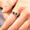 Margot Gemstone Stacking Ring