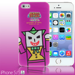 iPhone SE / 5 / 5S / 5C Comic Case: Justice League X Korejanai DC Comics Heroes - Joker (Limited Edition) (CMCA030000) by IQCUBES.COM