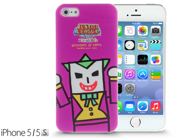 low priced e8a51 396dd iPhone SE / 5 / 5S / 5C Comic Case: Justice League X Korejanai DC Comics  Heroes - Joker (Limited Edition)