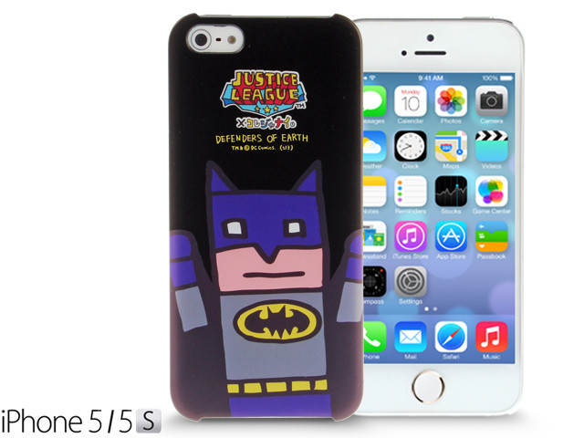 iPhone SE / 5 / 5S / 5C Comic Case: Justice League X Korejanai DC Comics Heroes - Batman Limited Edition CMCA029900 by IQCUBES.COM
