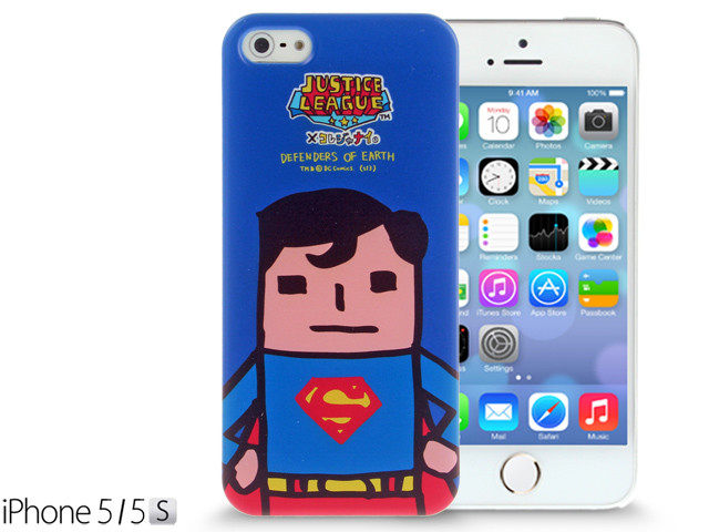 iPhone SE / 5 / 5s / 5c Comic Case: Justice League X Korejanai DC Comics Heroes - Superman (Limited Edition) (CMCA029700) by IQCUBES.COM